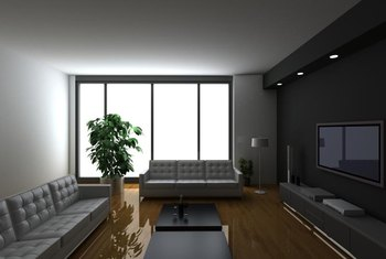 Dark Brown Floors Usually Call For Lighter Wall Colors