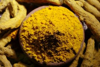 Turmeric is often used in curry dishes.