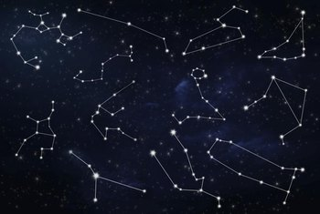 Star wall decals that mimic constellations can be educational as well as fun.