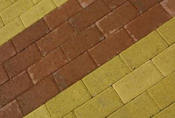 Decorative designs create interest in any paver area.