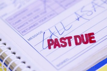 Past-due debts affect your business' ability to get future credit.