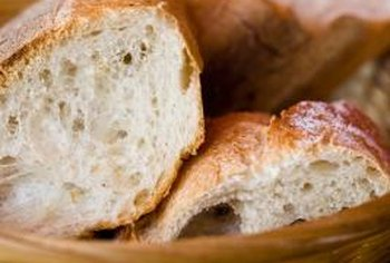 White bread is a source of unhealthy carbohydrates.