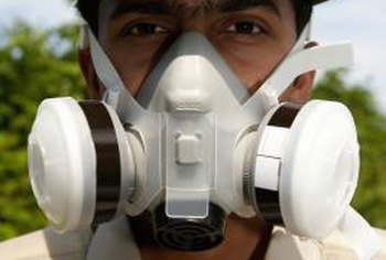 Use a respirator or very high-quality dust mask for large projects.