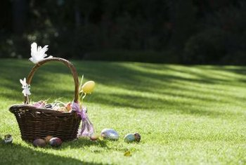 In most cases, time your first lawn fertilizer application for Easter weekend.
