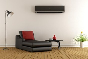 A mini-split AC system can work in homes lacking heating ductwork.