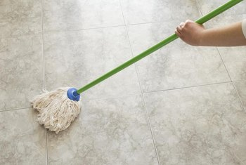How to Remove Haze From Tile Floor After Using Mop & Glo | Home ...