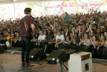 Concerts can attract huge crowds, making them particularly effective for Earth Day fundraisers.