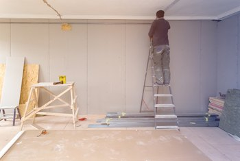How to Fix Drywall on an Already Painted Wall