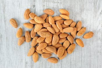How Much Potassium Is in Almonds?