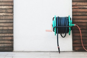 How To Install A Hose Reel On The Side Of A House Home
