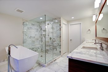 How to Finish the Tile Edge in a Shower With No Bullnose