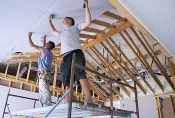 The Proper Sequence For Installing Drywall On Ceiling Wall