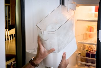 How to Repair an Ice Cube Maker That Is Not Getting Water