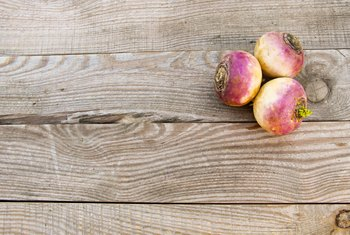 Nutrition Facts of Raw Turnip