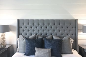 How to Paint Over Imitation Paneling
