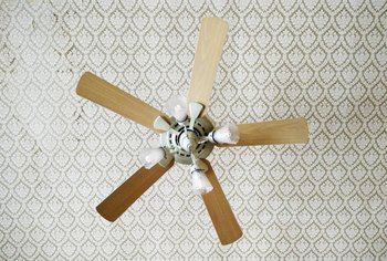 A Burning Smell in a Ceiling Fan