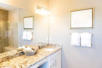 How to Position Vanity Lights on a Bathroom Wall