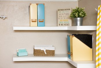 How to Fix a Sagging Floating Shelf