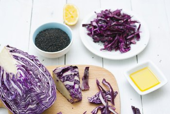 Nutrients in Purple Cabbage