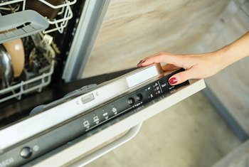 How to Adjust a Dishwasher Door
