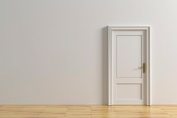 Should Interior Doors Be Painted the Same Color as the Walls?