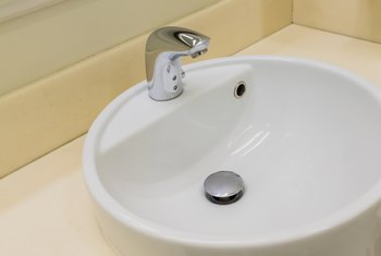 How to Drill Holes in a Porcelain Sink