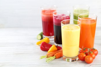 Foods & Juices With a Lot of Iron