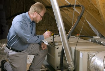 How to Troubleshoot a Furnace Blower That Runs No Heat