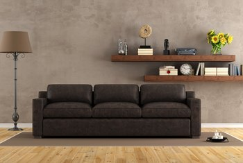 How to Repair the Color of a Leather Sofa