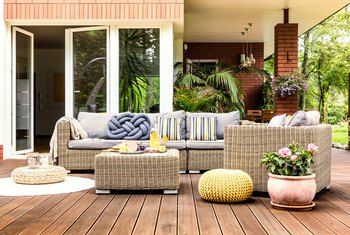 How to Use Indoor Furniture Outside