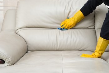 How to Make a Cleaning Solution for Microfiber Sofas