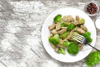 Nutritional Facts for Steamed Chicken Broccoli