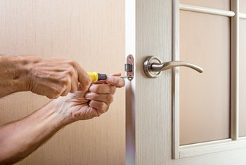 How to Refill a Wood Deadbolt Latch Hole