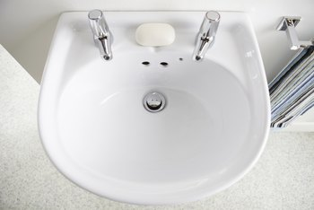 How to Remove Burn Marks on Porcelain Sinks