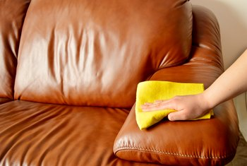 What House Products Can Be Used To Clean Leather Furniture
