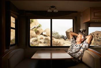 A clutter-free RV is a much more comfortable and relaxing environment.
