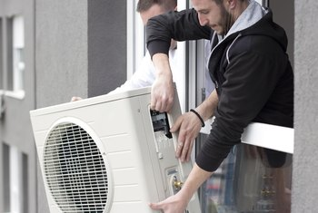 How to Install an Air Conditioner Into Horizontal Windows
