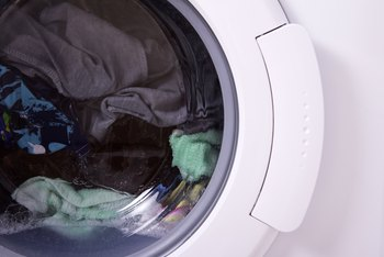 How to Get the Black Stuff Off the Rubber Seal on a Front Loader Washer
