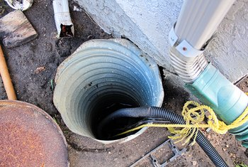 How to Clean a Sump Pump Drain Pipe