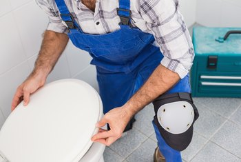 How To Raise A Toilet For Tile Installation Home Guides Sf Gate