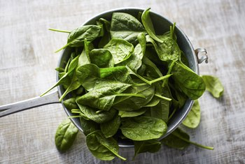 Drawback for Using Spinach As an Iron Supplement