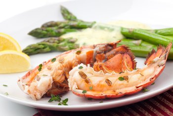 Nutrients of Lobster Tail