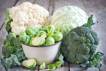Iron Contained in Broccoli & Cauliflower