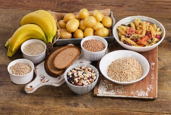 What Do Carbohydrates Taken in as Food Break Down Into?