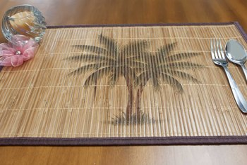How to Clean Bamboo Place Mats