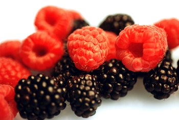 Berries are low in calorie, high in fiber and rich in antioxidants.