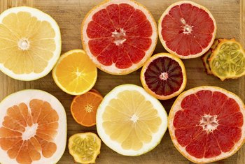 Citrus fruits are rich in vitamin C, one of the best-known antioxidants.