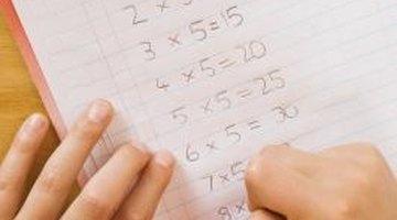 A List of Basic Math Facts