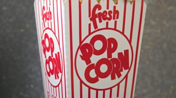 Most of the world's popcorn is produced and consumed in the United States.