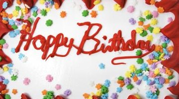 You can learn to sing the Happy Birthday song in the Spanish language.